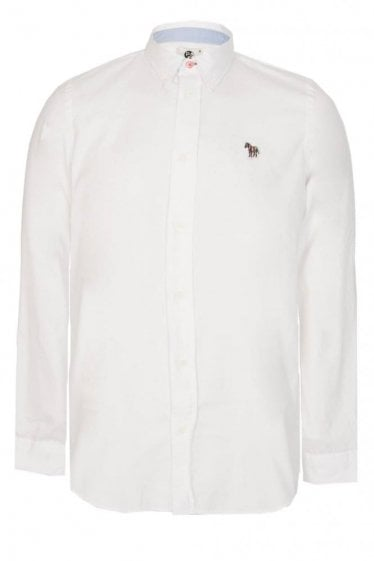 Paul Smith Zebra Oxford Shirt White