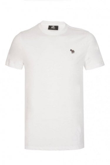 Paul Smith Zebra Slim Fit T-Shirt White
