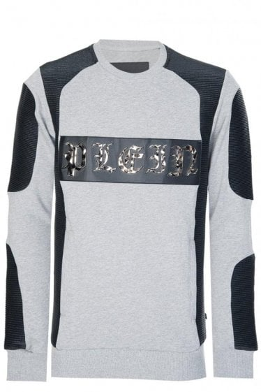 Philipp Plein 'Alloy' Sweatshirt Grey