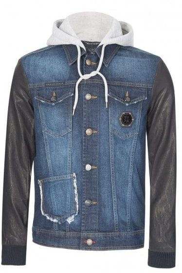Philipp Plein Chameleon Denim Jacket