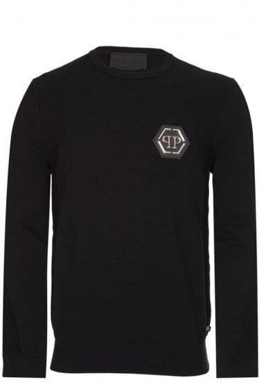 Philipp Plein 'Down' Sweatshirt Black