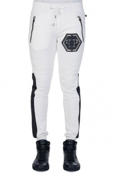 Philipp Plein 'Force' Joggers White
