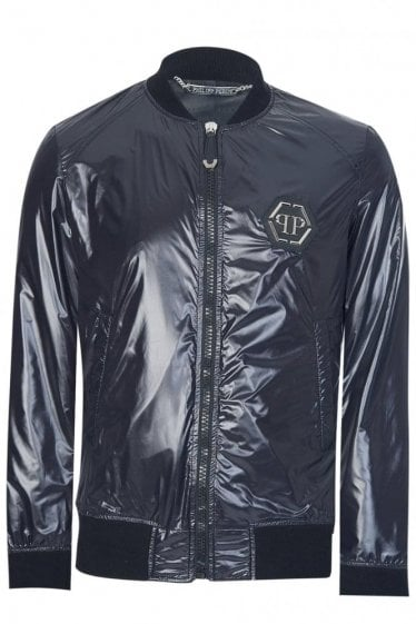 Philipp Plein I Win Jacket Black