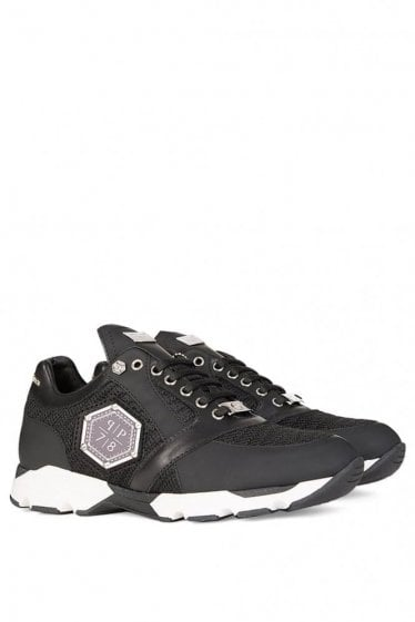 "Philipp Plein ""Johnney is Back"" Trainers Black"