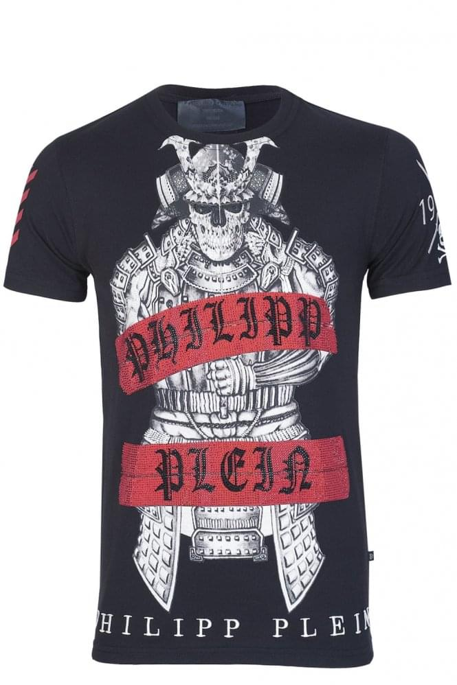 PHILIPP PLEIN 'Kami' T-Shirt Black
