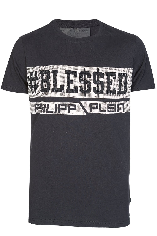 9b664bc19b Philipp Plein 'Mara Blessed' T-Shirt Black
