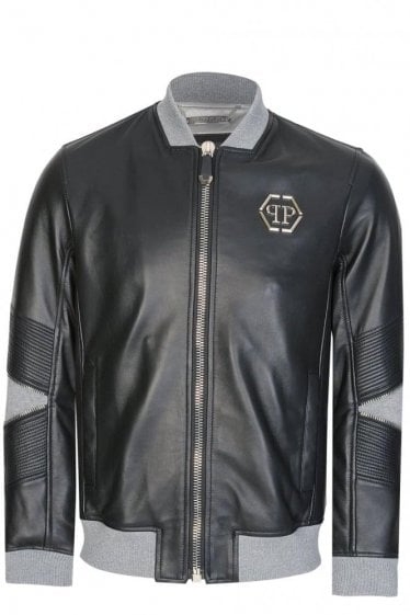 Philipp Plein Mei Leather Bomber