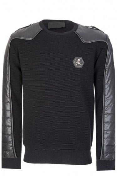 Philipp Plein One Life Sweatshirt Black