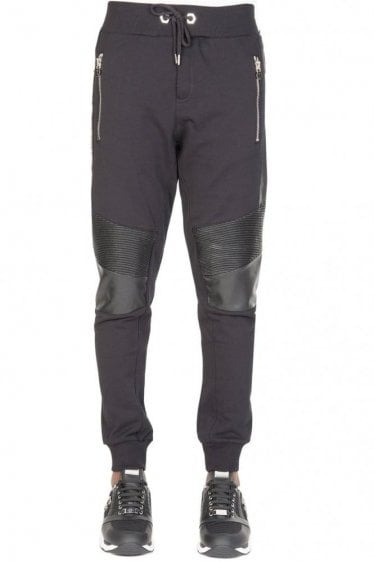 Philipp Plein 'Proof' Combination Item Joggers Black