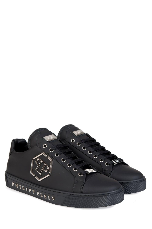 philipp plein 39 queensland 39 sneakers black. Black Bedroom Furniture Sets. Home Design Ideas