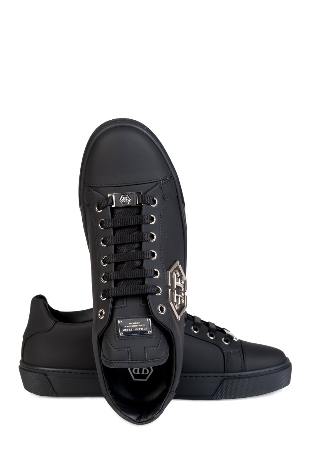 d2ea8bd8284 Philipp Plein  Queensland  Sneakers Black