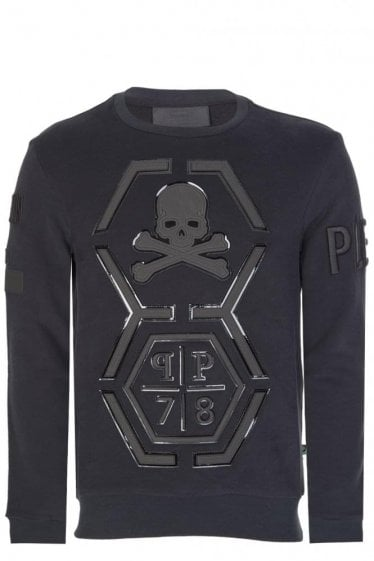 Philipp Plein Reliable Sweatshirt Black
