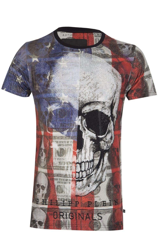ebc802b8f7 Philipp Plein 'Satin' T-Shirt Black