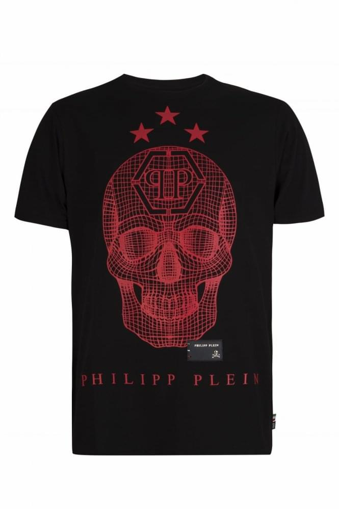 PHILIPP PLEIN 'Say Something' T-Shirt Black