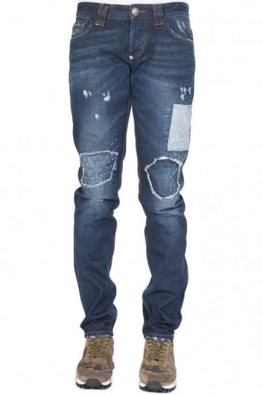 Philipp Plein 'So Clean' Straight Cut Jeans