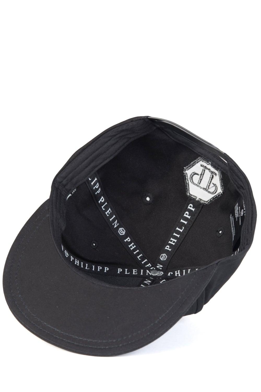 philipp plein 39 state 39 baseball cap black. Black Bedroom Furniture Sets. Home Design Ideas