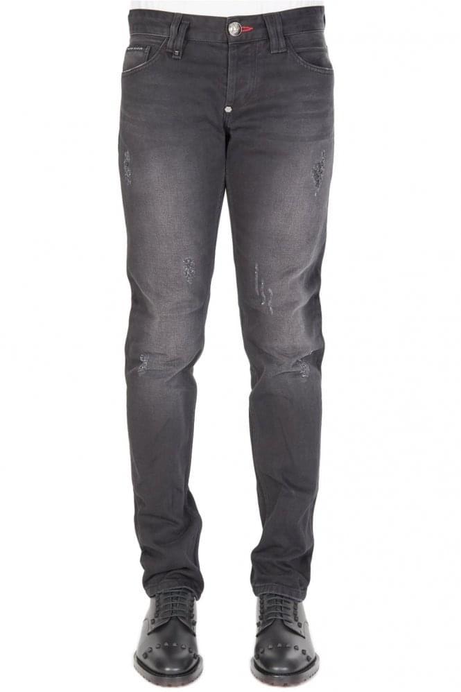 philipp plein straight cut trade jeans. Black Bedroom Furniture Sets. Home Design Ideas