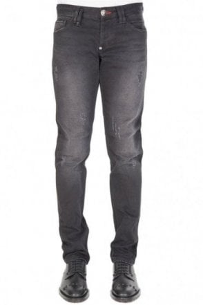 Philipp Plein Straight Cut Trade Jeans