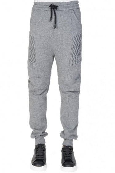 Pierre Balmain Biker Combination Item Joggers Grey