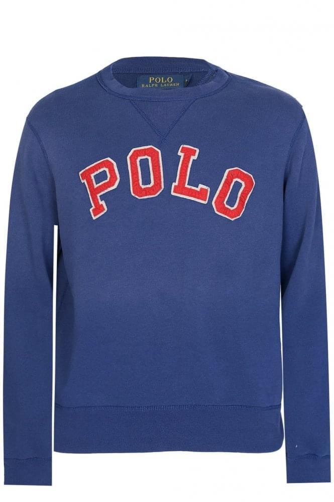 Polo Ralph Lauren Appliqu Sweatshirt Navy