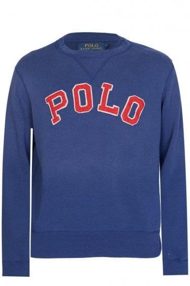 Polo Ralph Lauren Appliqué Sweatshirt Navy