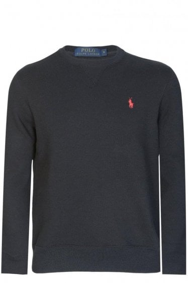 Polo Ralph Lauren Athletic Fleece Sweatshirt Black