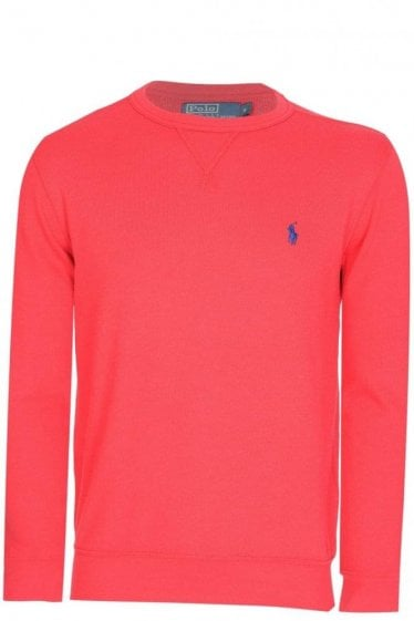 Polo Ralph Lauren Chest Logo Sweatshirt Red