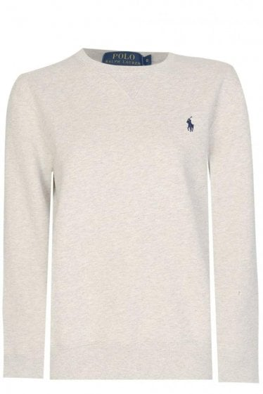 Polo Ralph Lauren Classic Sweatshirt Light Grey