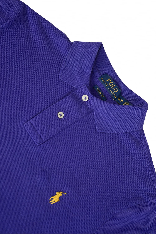 9c42c8b34 Polo Ralph Lauren Custom-Fit Mesh Polo Purple