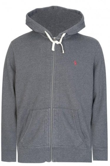 Polo Ralph Lauren Zip Hoodie Dark Grey