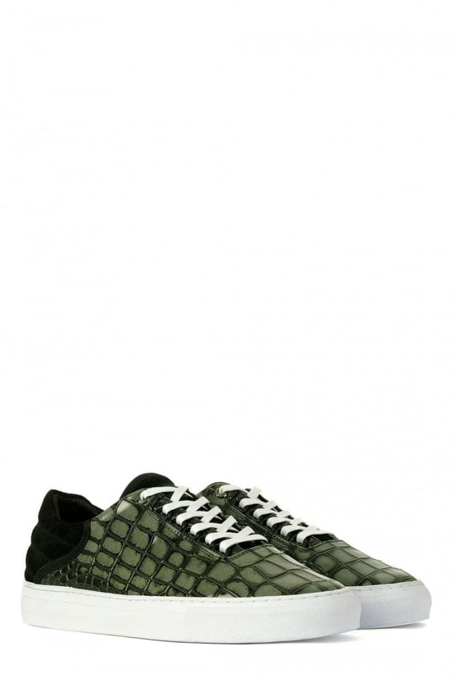 ANDROID HOMME PROP LOW EMBOSSED LTHR