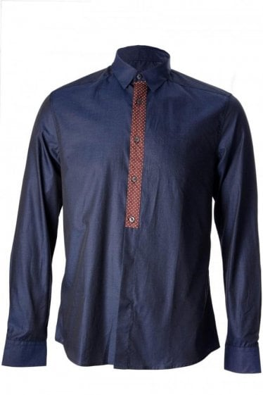 PS by Paul Smith Slim Gents Polka Dot Shirt