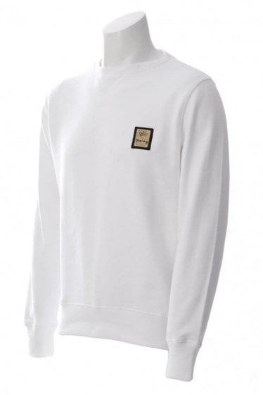 Money Purity Crew Neck Sweat Classic White