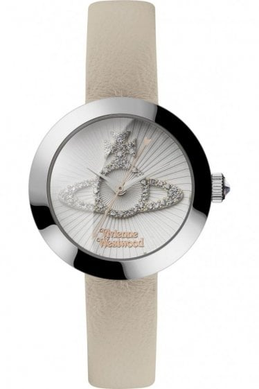 Vivienne Westwood Womens Queensgate Watch White