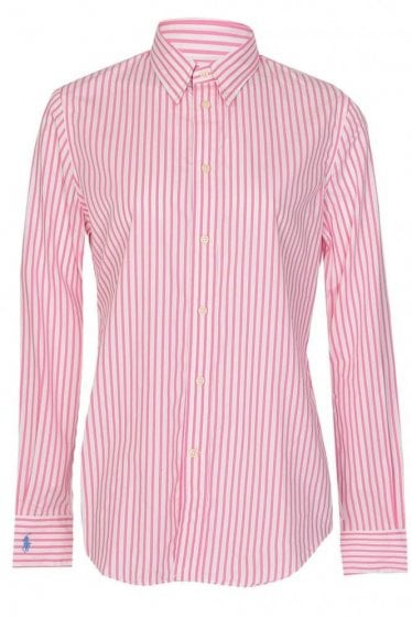 RALPH LAUREN WOMENS BENGAL STRIPE SHIRT