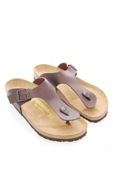 Birkenstocks 'Ramses' Toe Post Sandles Brown