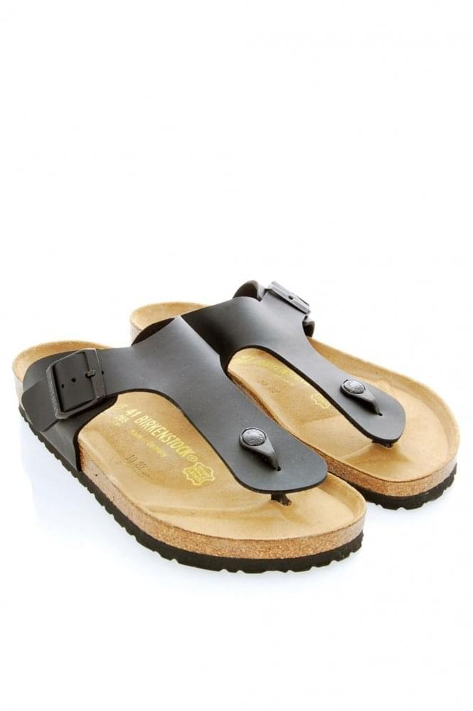 BIRKENSTOCK Birkenstocks Ramses Toe Post Sandles Black