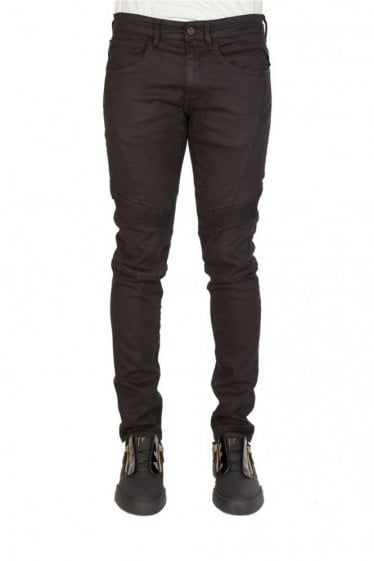 Replay 5 Pocket Zaldok Slim Fit Denim Jeans Black