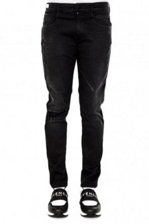 Replay Anbass Black Jeans