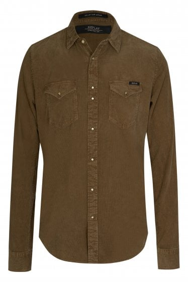 Replay Corduroy Shirt