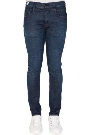 Replay Hyperflex Anbass Denim Jeans Blue