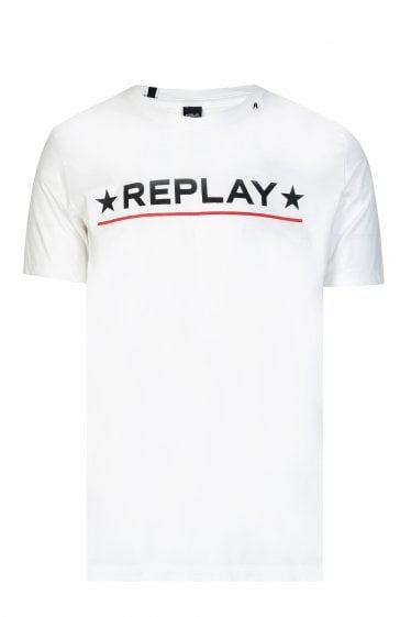 Replay Star Logo T-shirt