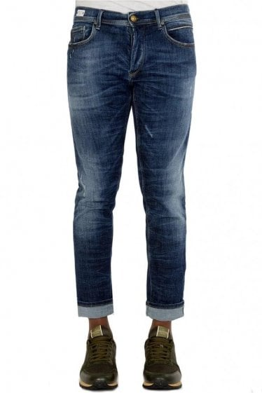 Replay 'We R Replay' Edition Mid Rinse Jeans