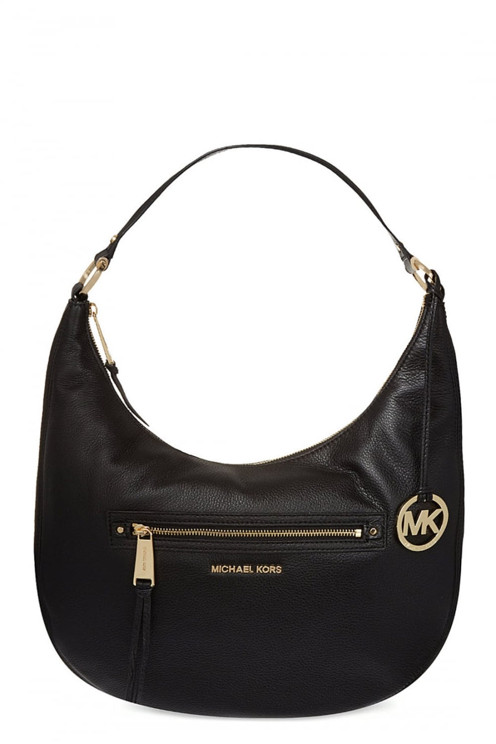 eca1983f9270 MICHAEL KORS Michael Kors Rhea Zip Large Messenger Black - Clothing from  Circle Fashion UK