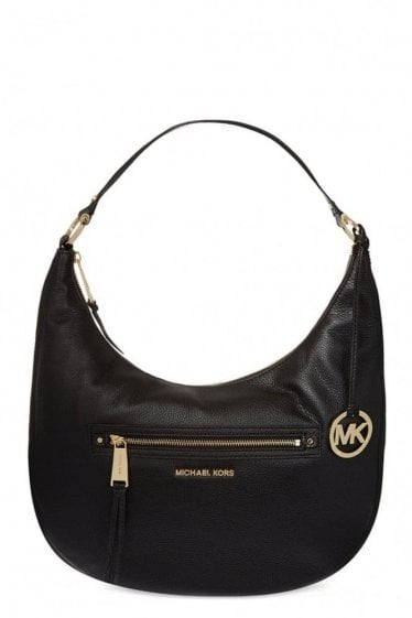 Michael Kors Rhea Zip Large Messenger Black