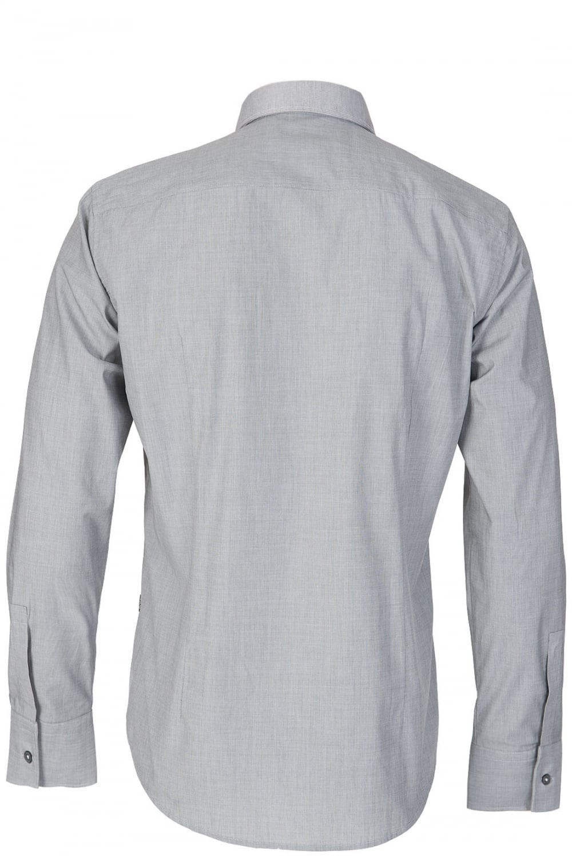 69b0ed874cb BOSS Hugo Boss  Ronny  Grey Contrast Shirt - Clothing from Circle ...