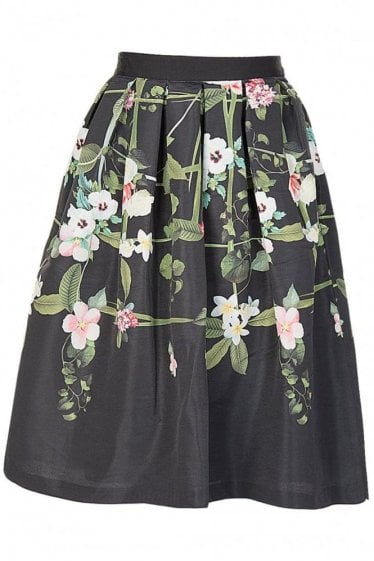 Ted Baker Secret Trails Midi Full Skirt
