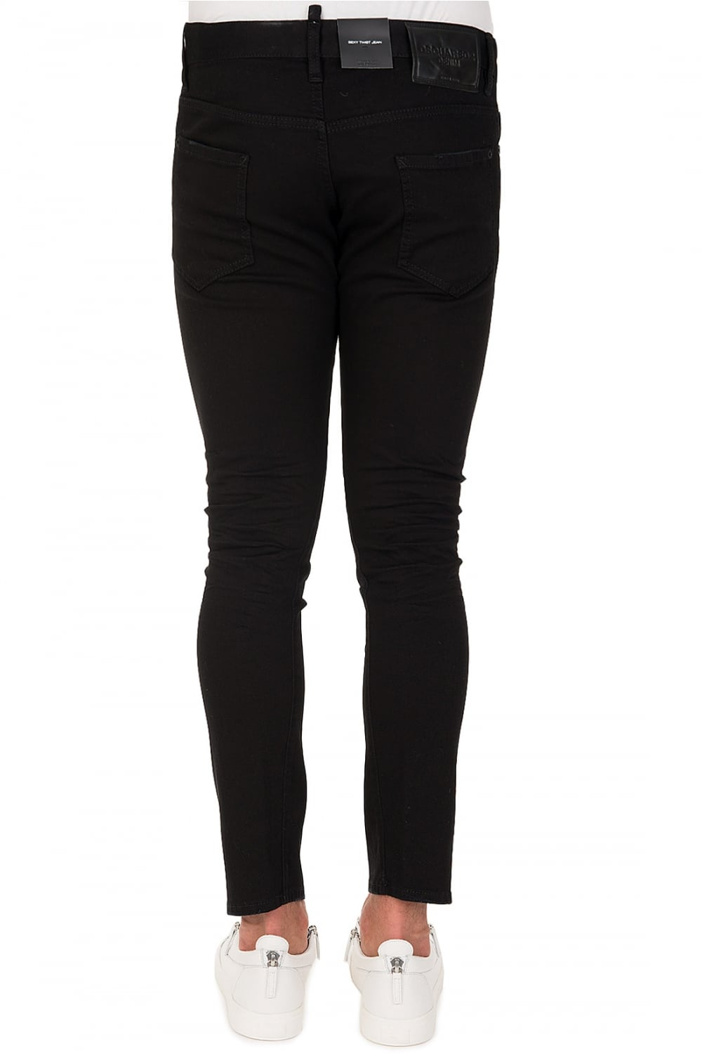 sexy twist jeans - Black Dsquared2 8nAAS9
