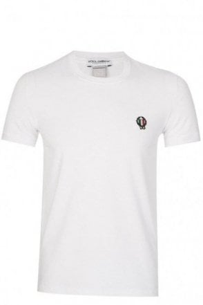 Dolce & Gabbana Shield Logo T-Shirt White