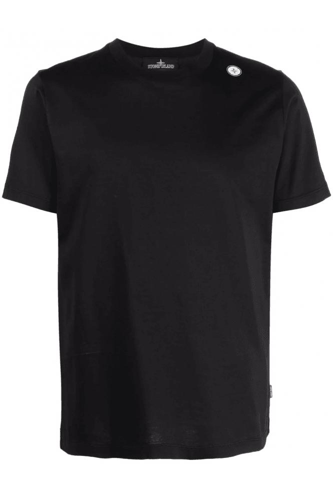 Shoulder-Print-Cotton-Tee